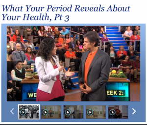 Alisa Vitti on the Dr. Oz Show